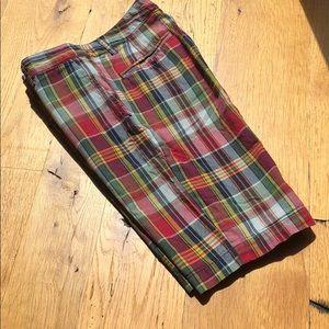 Boys Polo madras shorts